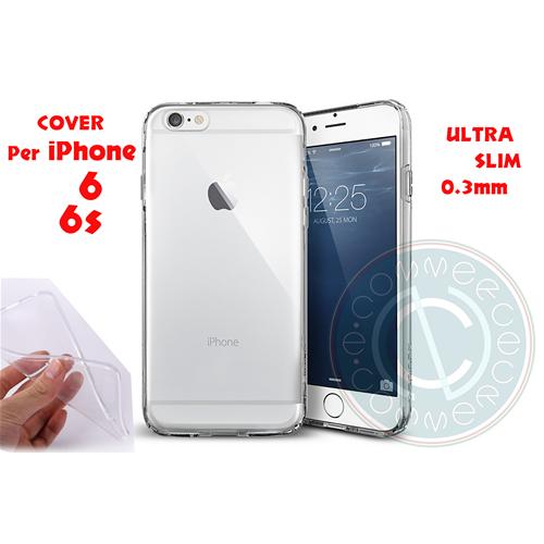 Cover Custodia per iPhone 6 6s Guscio Protettivo Trasparente in