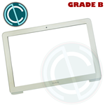 "APPLE MACBOOK A1342 UNIBODY 13"" WHITE CORNICE BEZEL COVER FRONT DISPLAY ORIGINAL"