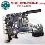 "APPLE MACBOOK PRO A1278 13"" 2011 SCHEDA MADRE MOTHER BOARD I5 2,3 GHZ 820-2936-B"